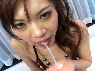 Stunning Asian slut gets pulverized by 2 naughty folks