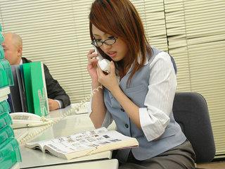Rino Mizusawa sates both manager and customer