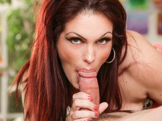 GI Jen is a hot cock sucking mom