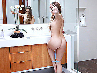 Fat ass cute sexy girl Cassidy Klein has her tight snatch fucked